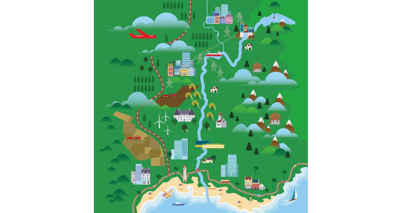 odeka illustration rough story board animation paper art rhone carte lun et lautre