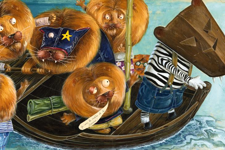 Olivier DAUMAS - illustrations -  - Animaux