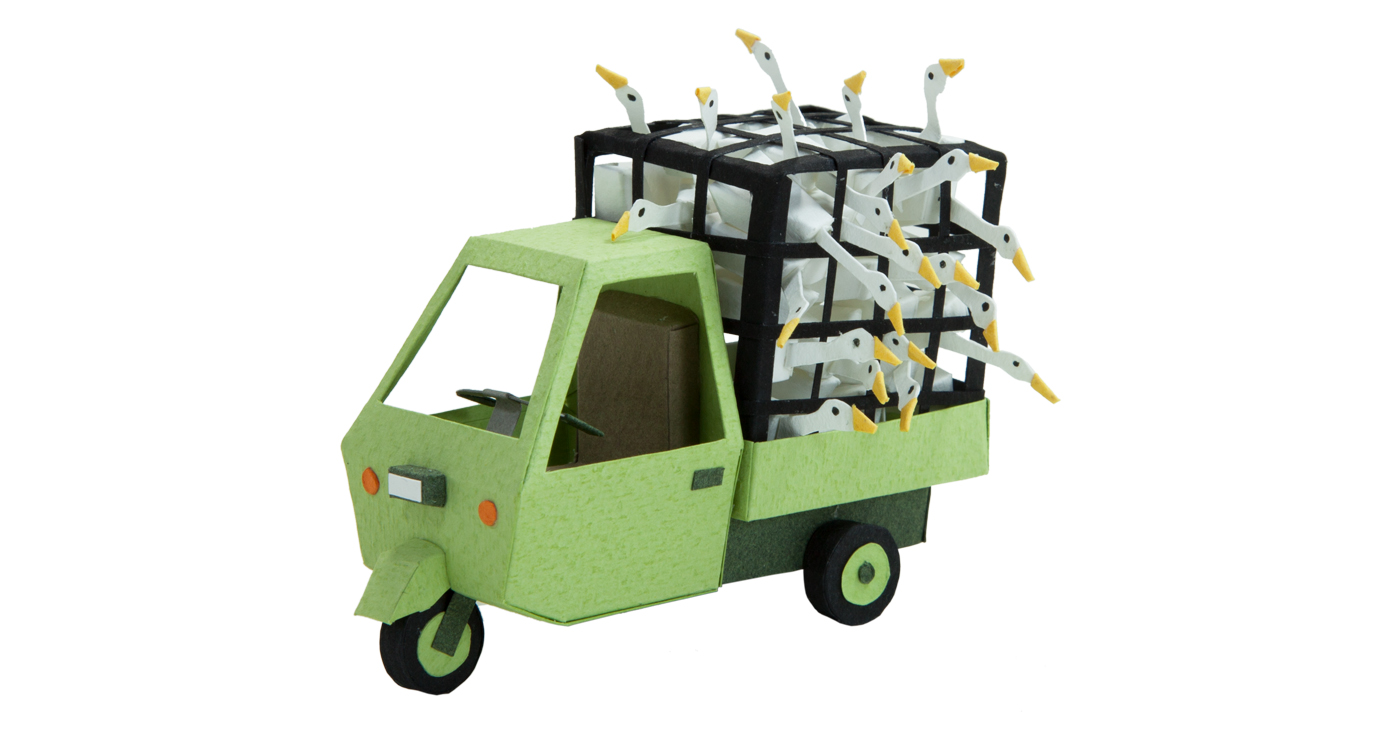 patrick-pasques-papier-scooter-canard