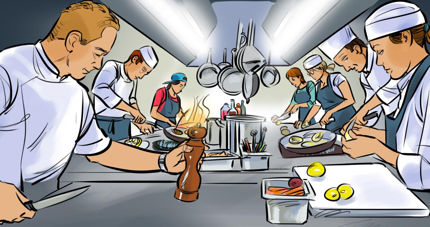 rough animatic manuel fontegne cuisine