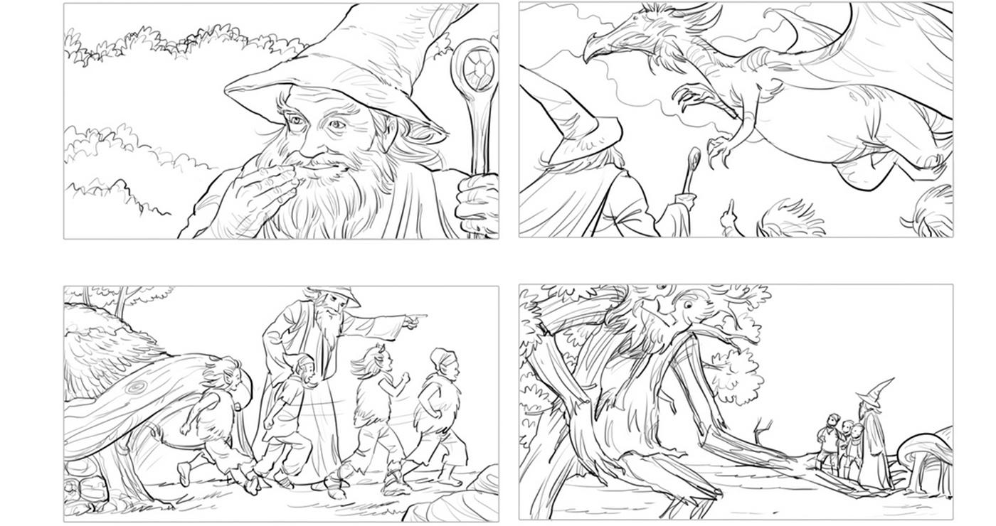 rough-storyboard-manuel-fontegne-dragon