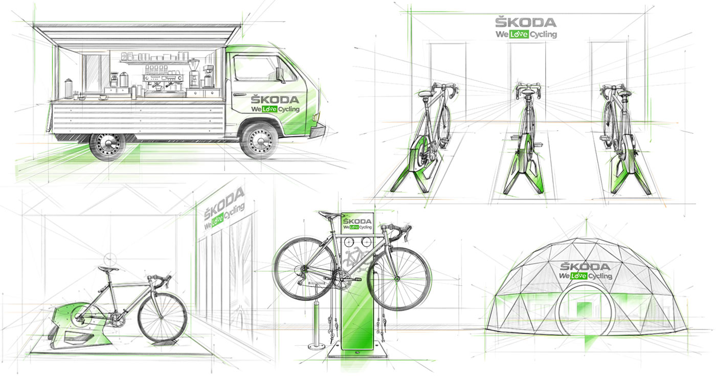 roughs evenementiels richard ngo skoda