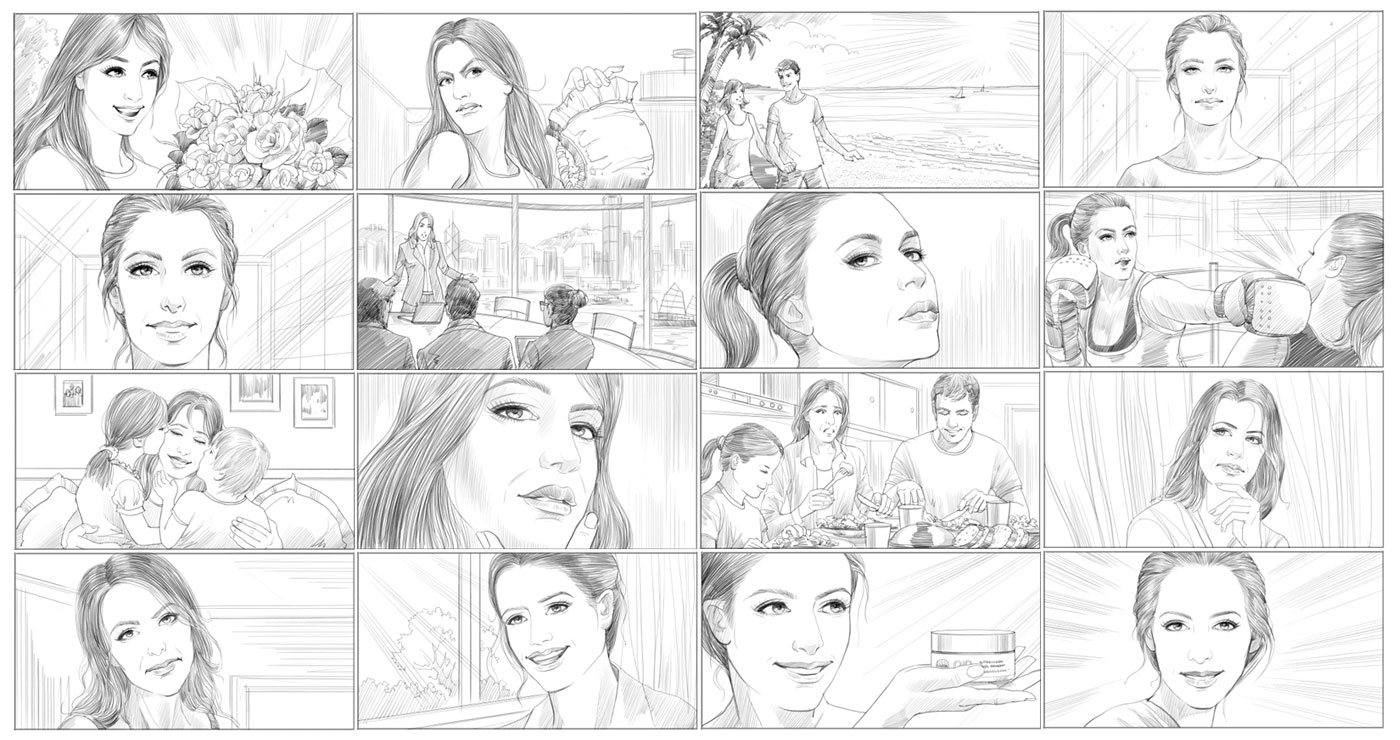 story board richard ngo nivea