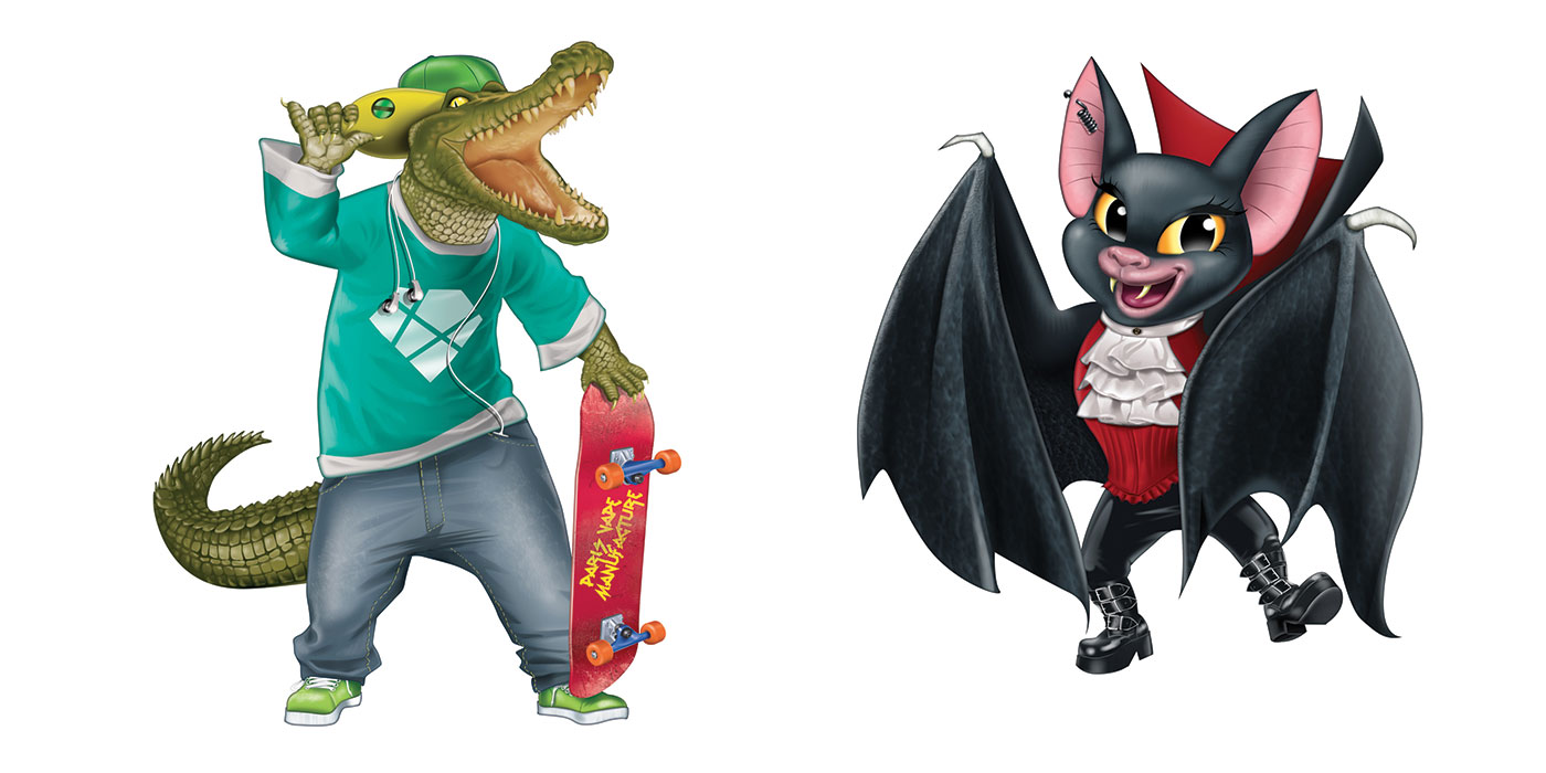 thierry-beaudenon-illustration-animaux-croco-bat
