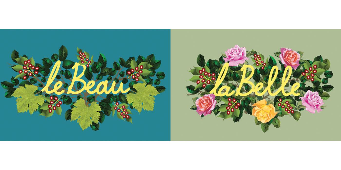 thierry beaudenon illustration rough story board animation paper art pinup eden lun et lautre