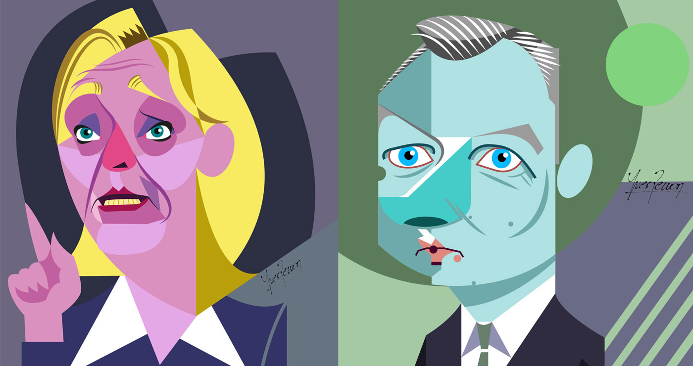 yves-perron-illustration-caricatures-Lepen-Lemaire
