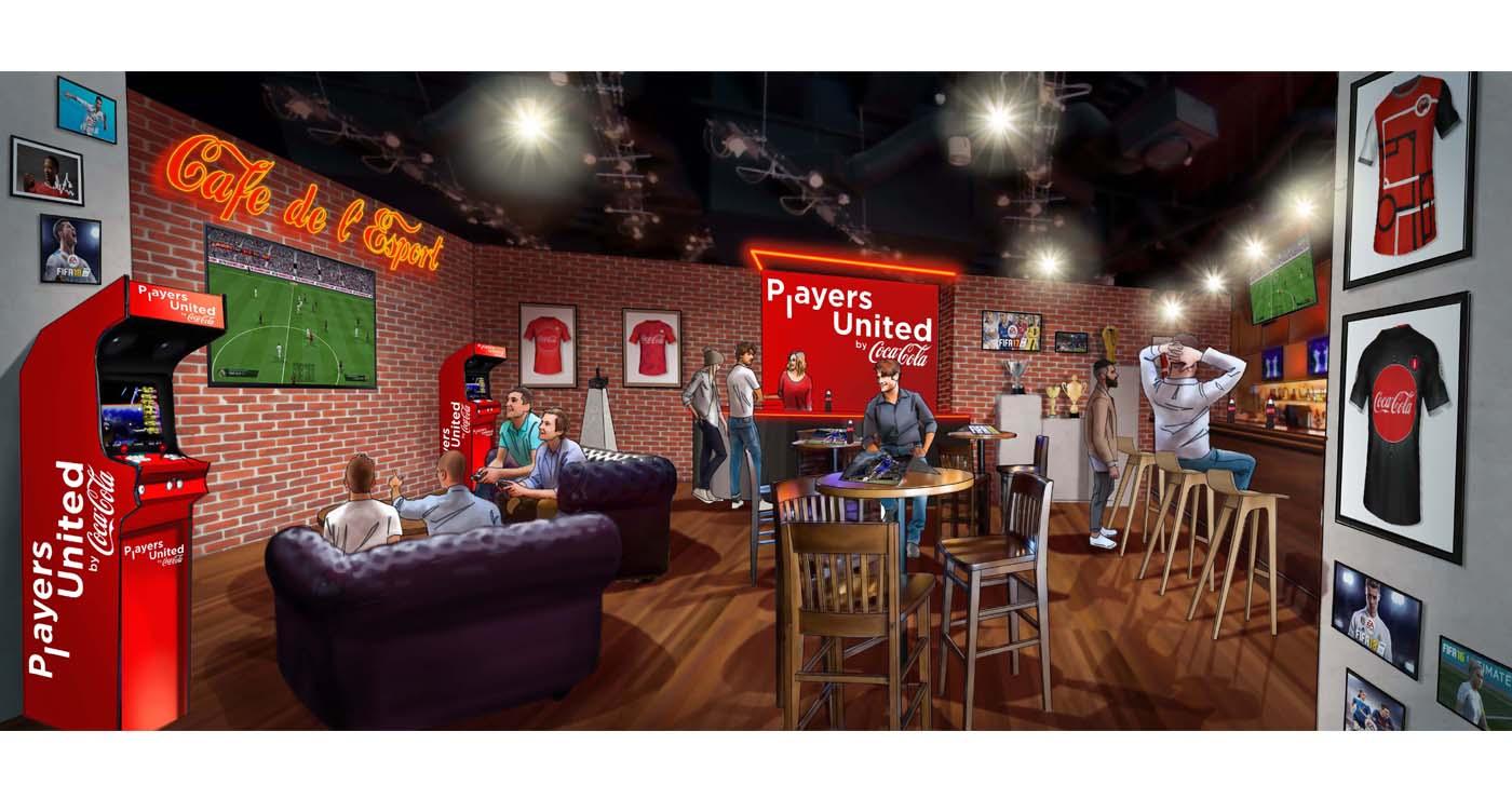 yves perron rough illustration story board animation paper art evenementiel coca fifa 1 lun et lautre