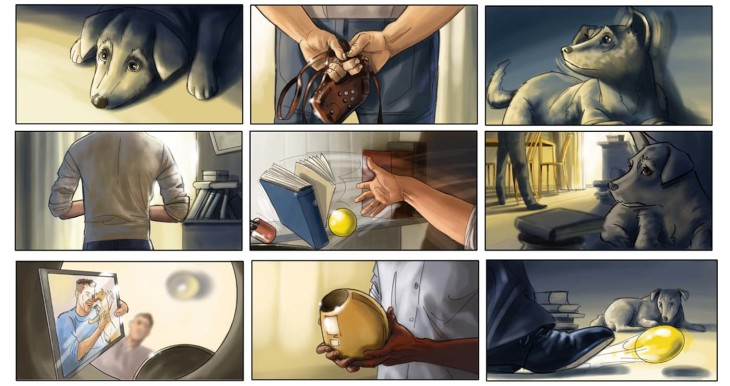 Yves PERRON - roughs & story -  - Story Board